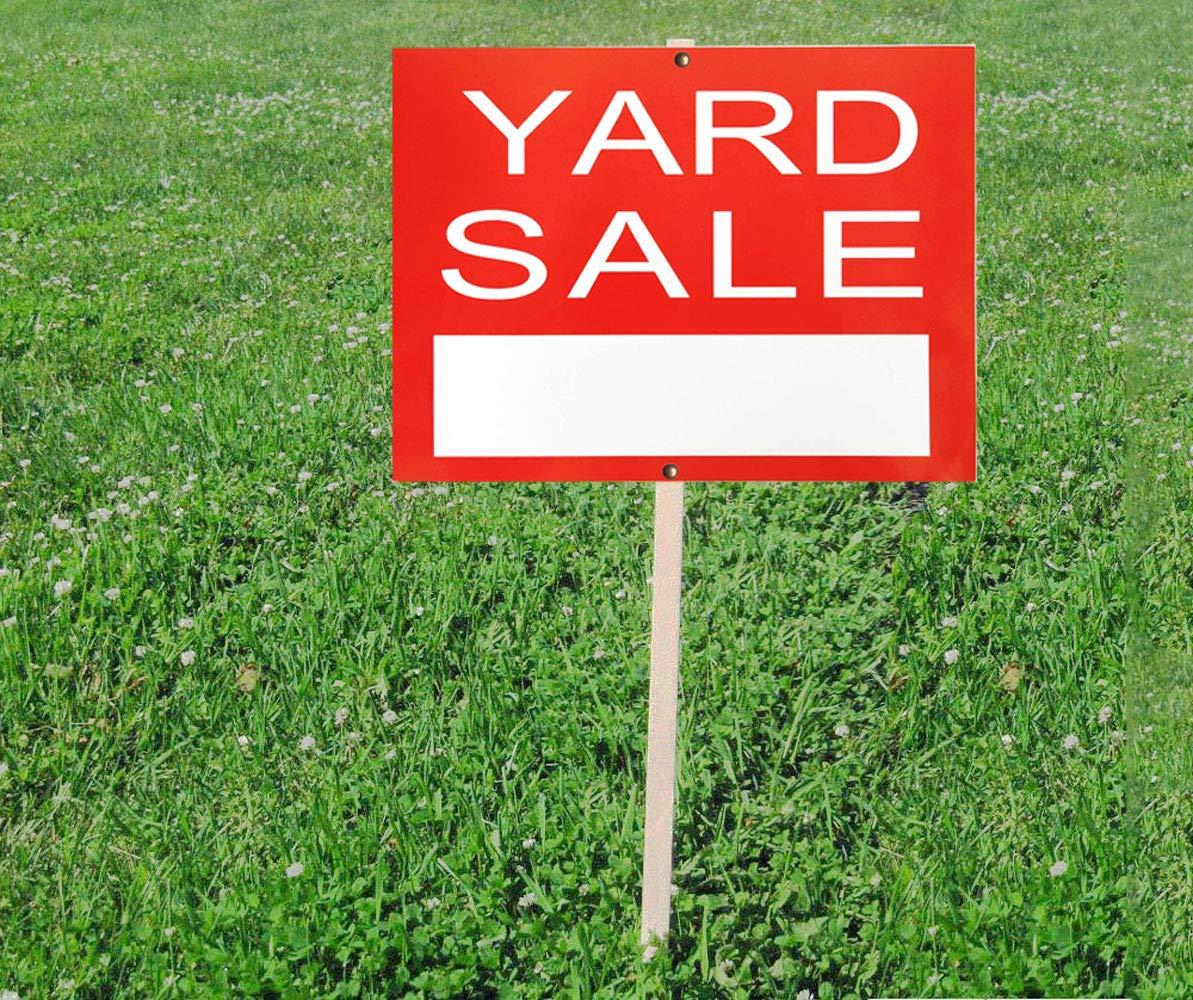 Señal de venta de patio - Red Garage Sale Yard Street Signs ...