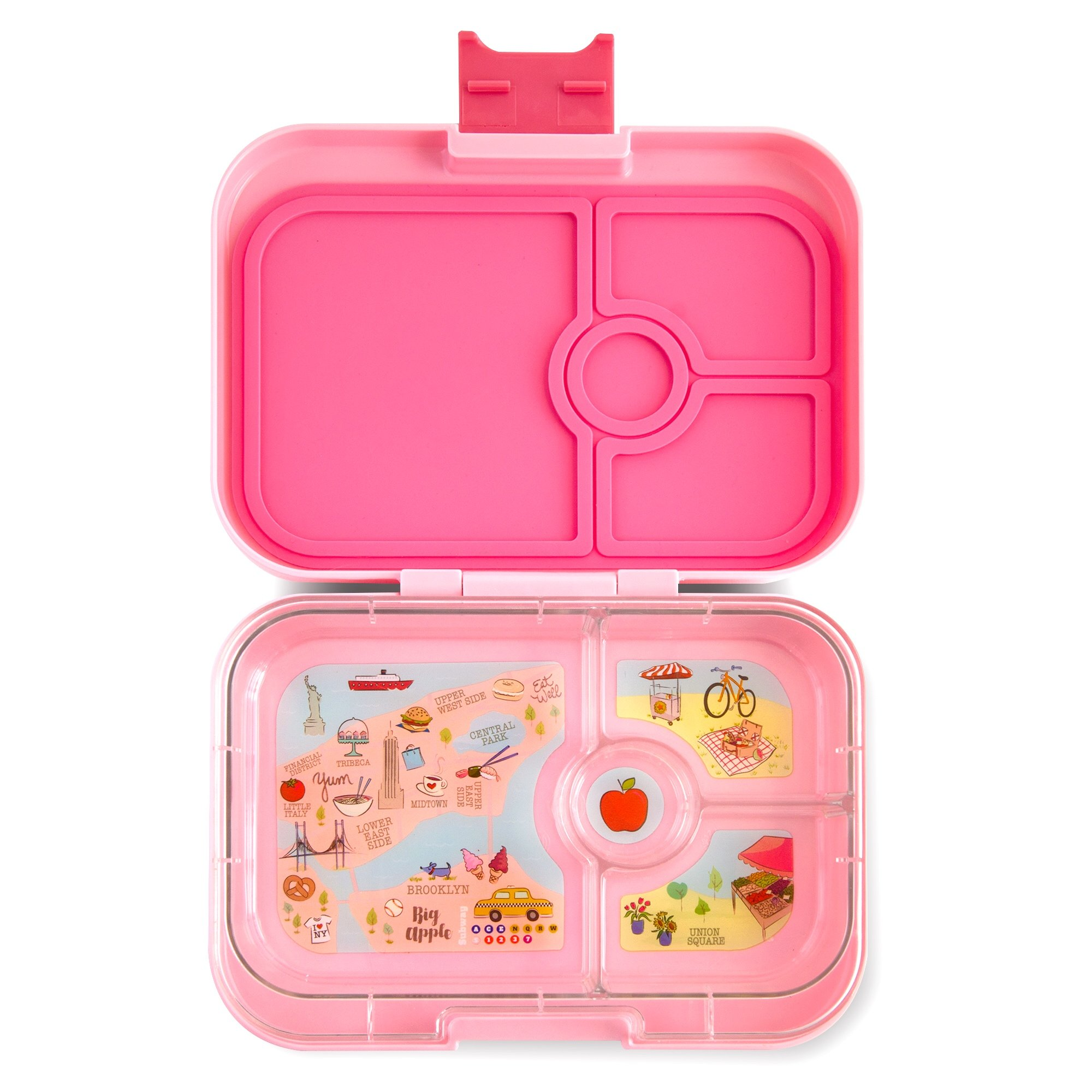 YUMBOX Panino (Gramercy Pink) Leakproof Bento Lunch Box Container for Kids & Adults