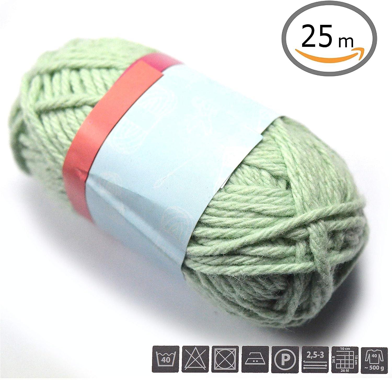 Générique pequeña Ovillo de Lana 100% algodón (25 Metros ...