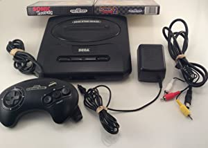 Sega Genesis Core System 2 Sonic Bundle - Includes Sonic 1 & 2