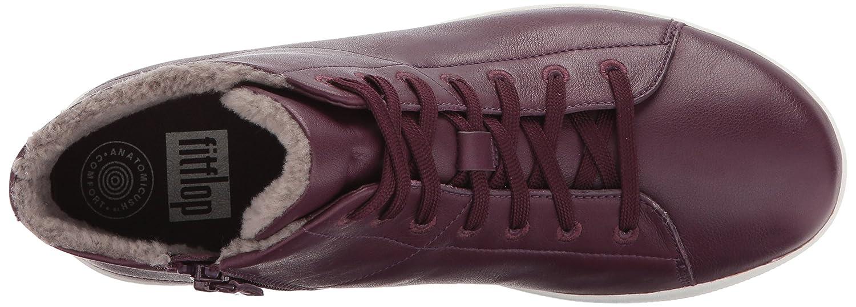 a3eebe3bb251 ... FitFlop Women s F-Sporty Sneakerboots 8 in Leather Sneaker B06XGGM2CK 8  Sneakerboots B(M ...