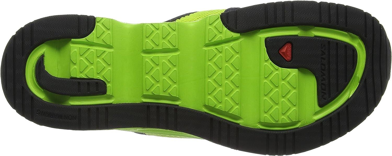 SALOMON RX Break, Chaussures de Plage & Piscine Homme, Vert (Granny Gecko GreenBlack), 48 EU