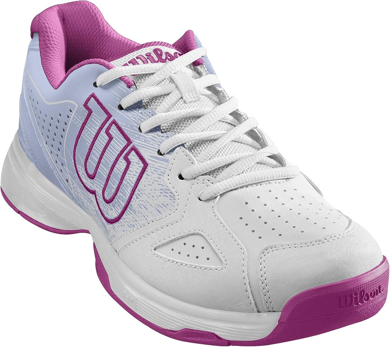 Wilson KAOS STROKE W, Zapatillas tenis mujer, todos los niveles y terrenos, , tejido/sintético, blanco/rosa: Amazon.es: Zapatos y complementos