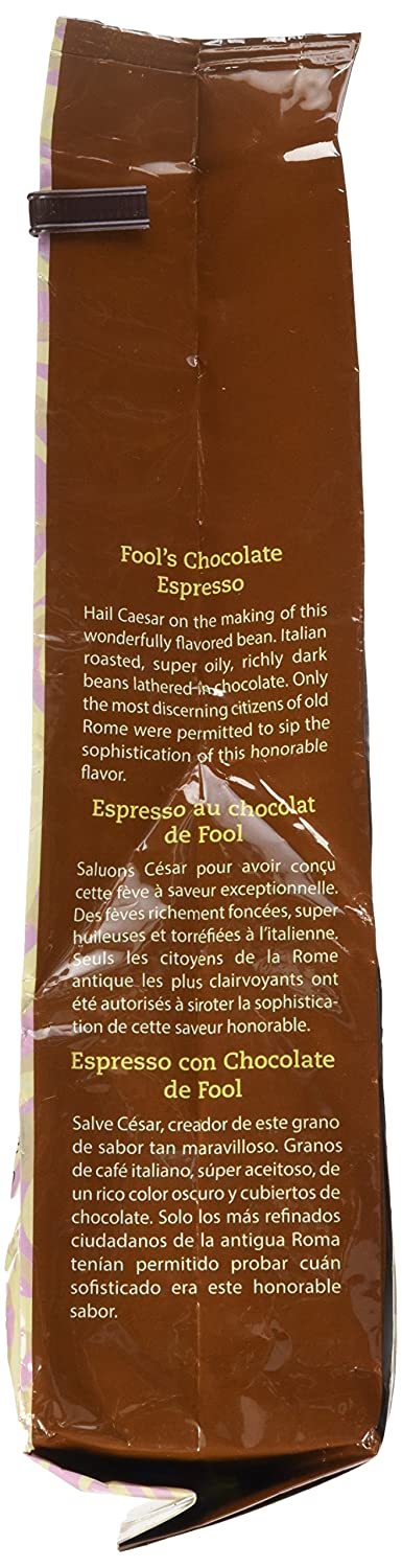 Amazon.com : The Coffee Fool Strong Drip Grind, Fools Decaf Chocolate Espresso, 10 Ounce : Ground Coffee : Grocery & Gourmet Food