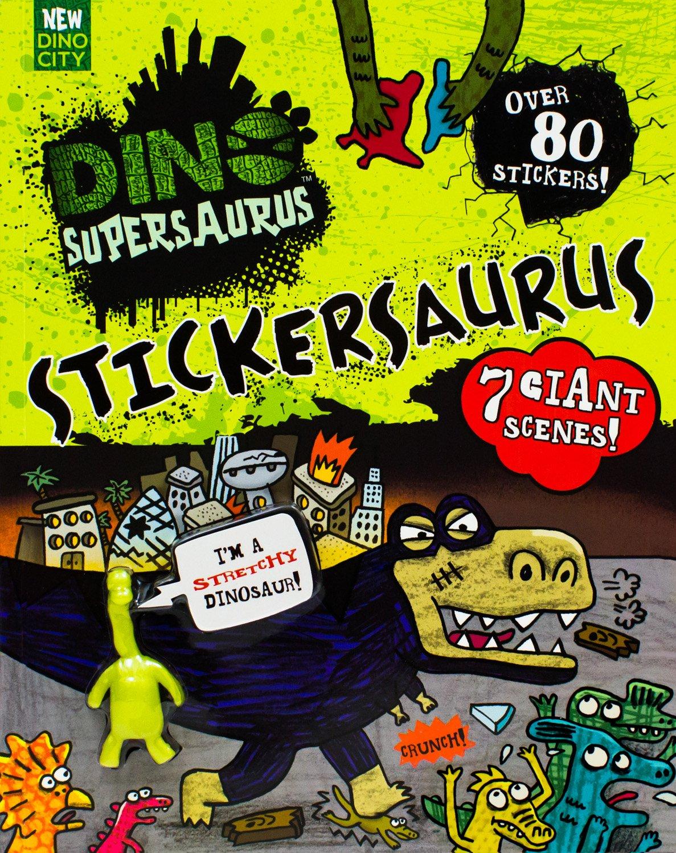 Dino Supersaurus: Stickersaurus PDF