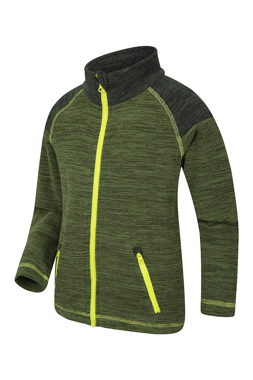 Autumn Pullover Mountain Warehouse Snowdonia Kids Fleece Jacket