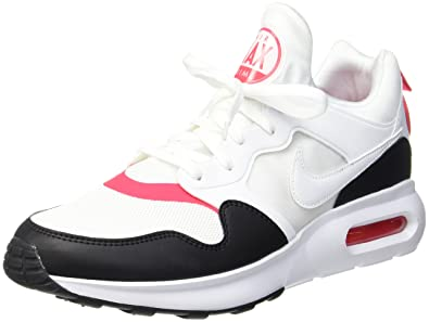 Nike Air Max Prime, Zapatillas de Gimnasia para Hombre, Multicolor (White/White-Sirena Red-Black-BRT Citrus), 41 EU