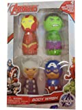 Marvel Avengers 4 Flavors Scented Body Wash Gift Set