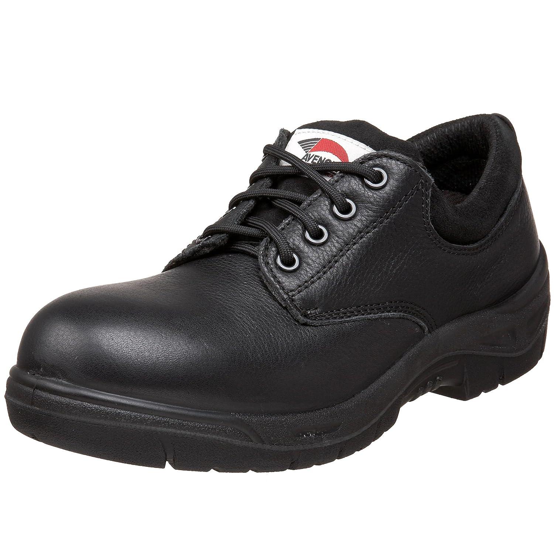 Avenger Safety Footwearメンズ7113 Safety Toe Oxford B00394E5PU 11 C/D US|ブラック ブラック 11 C/D US