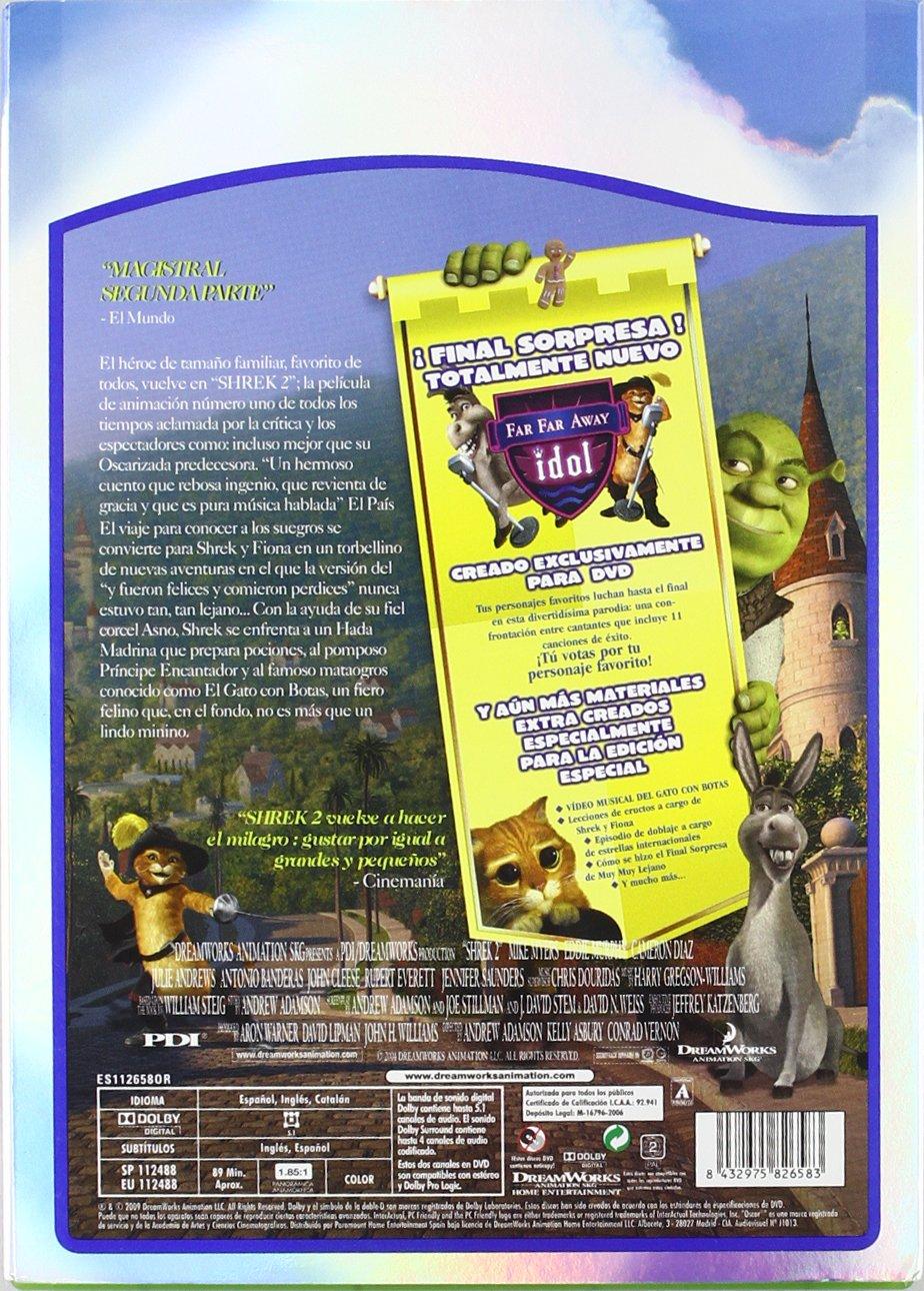 Shrek 2 (Edición especial) [DVD]: Amazon.es: Andrew Adamson, Kelly Asb: Cine y Series TV