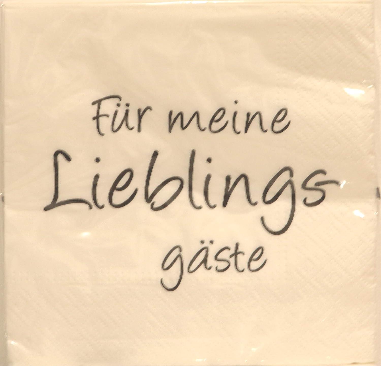 Cepewa Servietten 20 x F/ür Meine Lieblingsg/äste