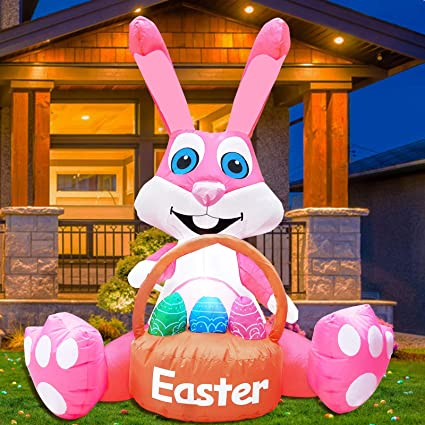 alpha-grp.co.jp TURNMEON 3.5 Foot Easter Inflatables Outdoor ...