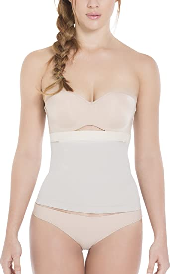 d1fd559b881 Siluet Seamless Silicone-Lined Shaping Waist Cincher at Amazon ...