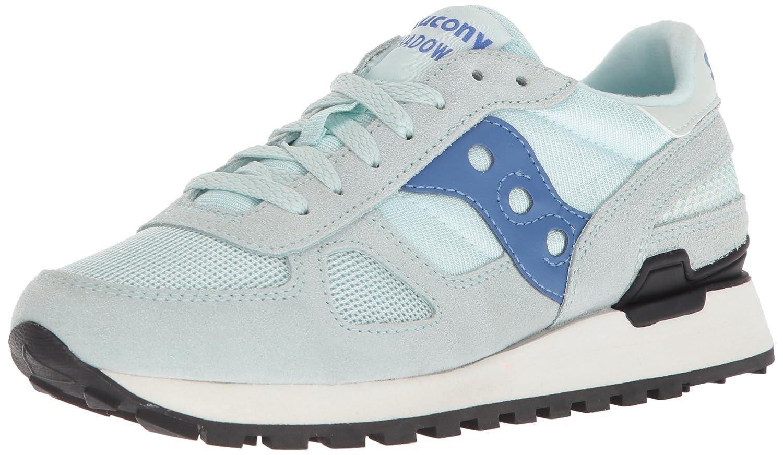 Saucony - Sneakers Donna Shadow Original - Bordeaux/Rose 38.5 EU|BLU ACQUA