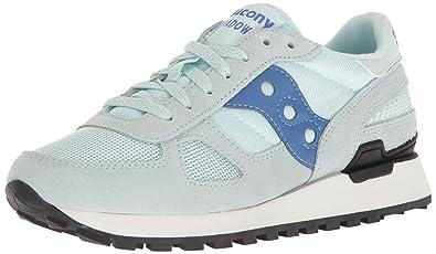 sale retailer 9bbc8 75208 Saucony Originals Women s Shadow Original Running Shoe, Light Blue, 5  Medium US