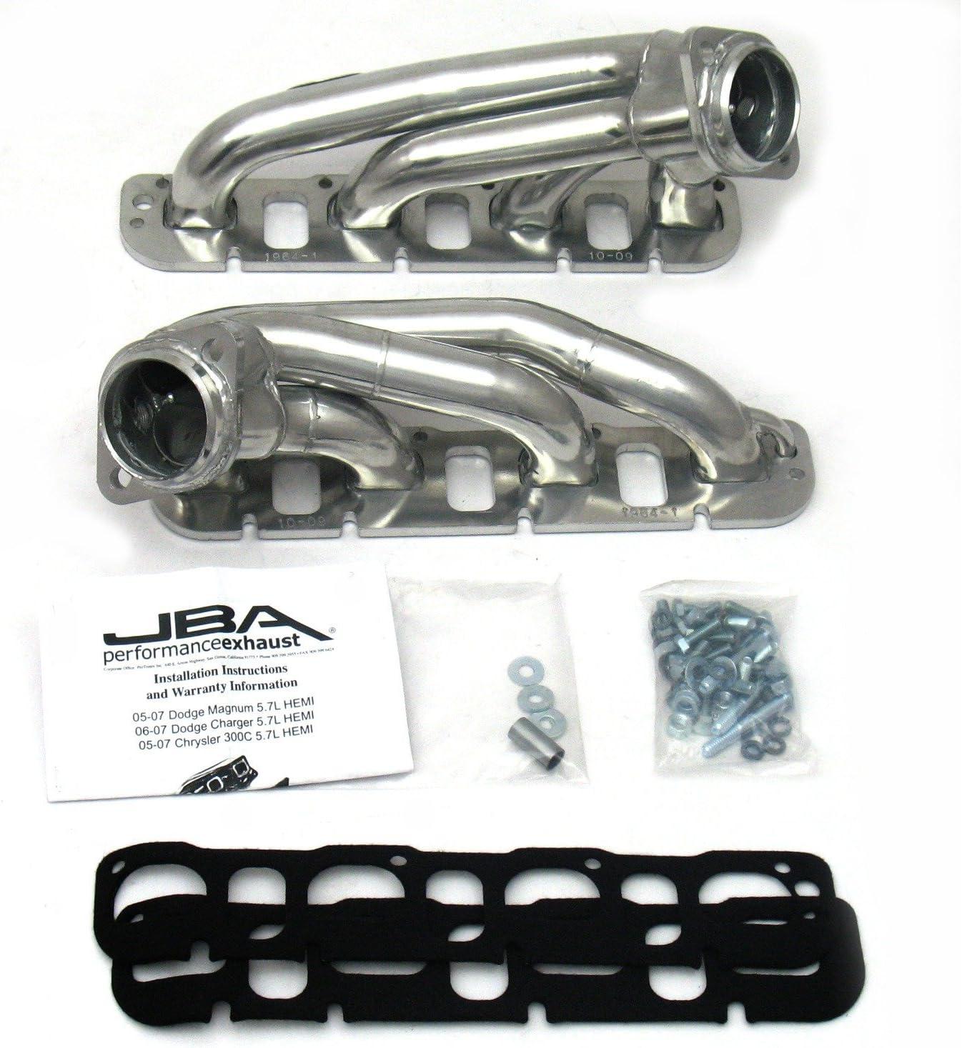"For Dodge 5.7L Hemi Exhaust Headers BBK 4012 1-3//4/"" Shorty Tuned Length Perf"