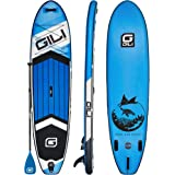 "GILI All Around Inflatable Stand Up Paddle Board Package | 10'6 Long x 31"" Wide x 6"" Thick 