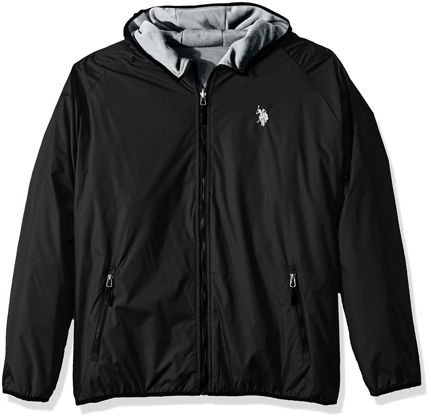 U.S. Polo Assn. OUTERWEAR メンズ B073694X37 4X Big|Black 9029 Black 9029 4X Big