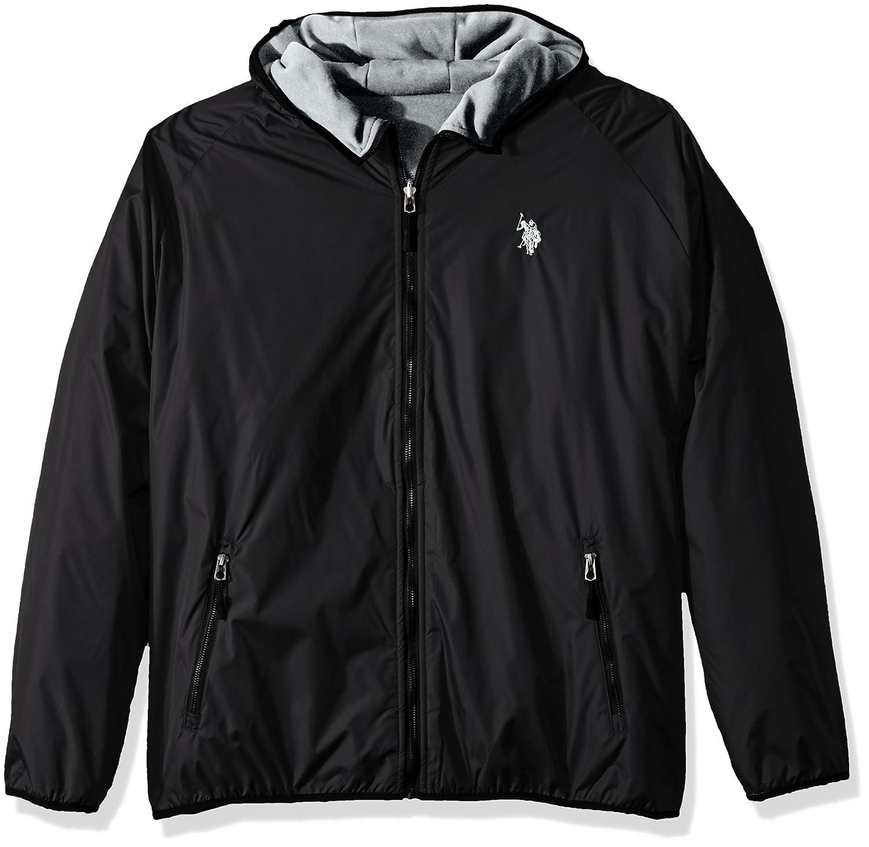 U.S. Polo Assn. OUTERWEAR メンズ B0736B51R6  Black 9029 Large
