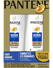 Pantene Pro-V Repair & Protect Shampoo and Conditioner Dual Pack, 730 mL ( packaging may vary )