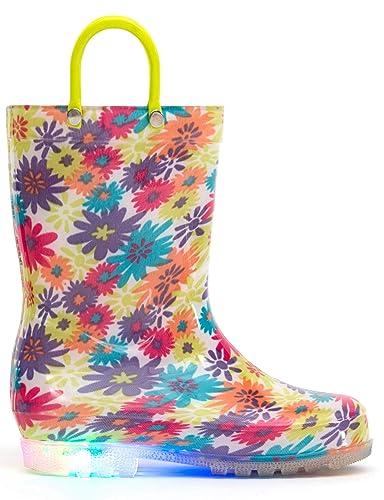 5aab0aea69bfb  MOFEVER  長靴 レインブーツ キッズ 女の子 子供 レインシューズキッズ 花柄 幼児 防水