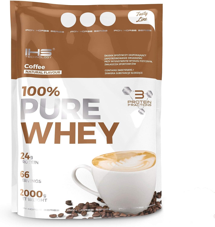 Iron Horse 100% Pure Whey - 1 paquete - Complejo de proteína de suero - WPI, WPC, WPH - Soporte para el desarrollo corporal - Masa muscular - Perfil ...
