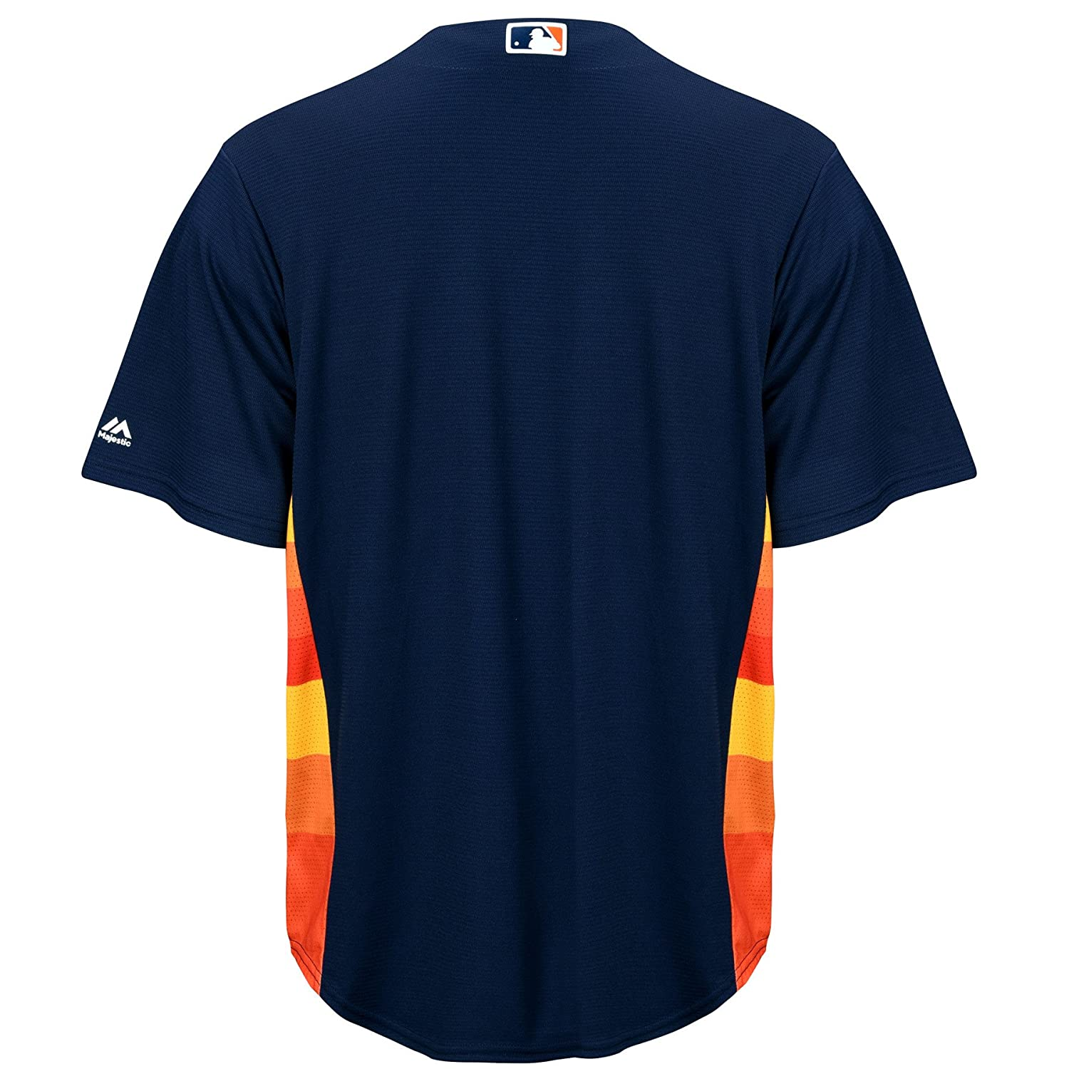 756a85c11 Amazon.com   Majestic Houston Astros Official Cool Base Alternate Jersey  Navy (Small)   Sports   Outdoors