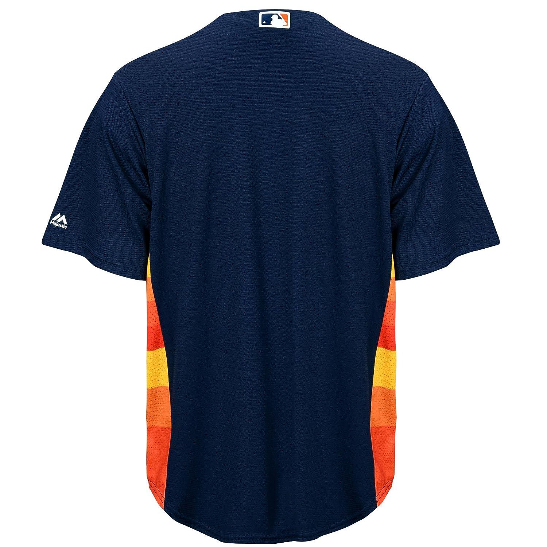 1cb98e0e772 Amazon.com   Majestic Houston Astros Official Cool Base Alternate Jersey  Navy (Small)   Sports   Outdoors