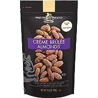 SQUIRREL BRAND Artisan Nuts Crème Brûlée Almonds, 3.5 oz (Pack of 6)