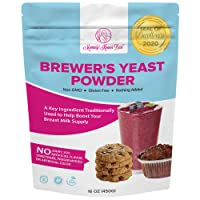 Brewers Yeast Powder for Lactation - Mommy Knows Best Brewer's Yeast for Breastfeeding...