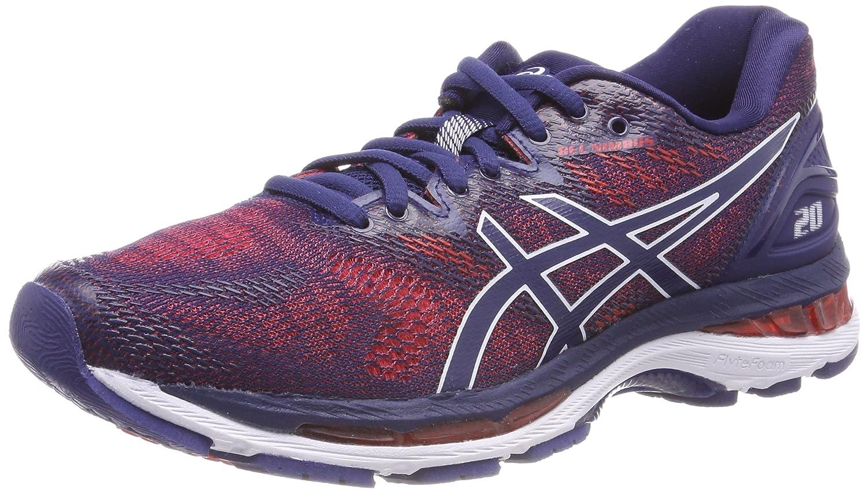 Bleu (Indigo bleu Indigo bleu Fiery rouge 4949) ASICS Gel-Nimbus 20, Chaussures de Running Homme 44.5 EU