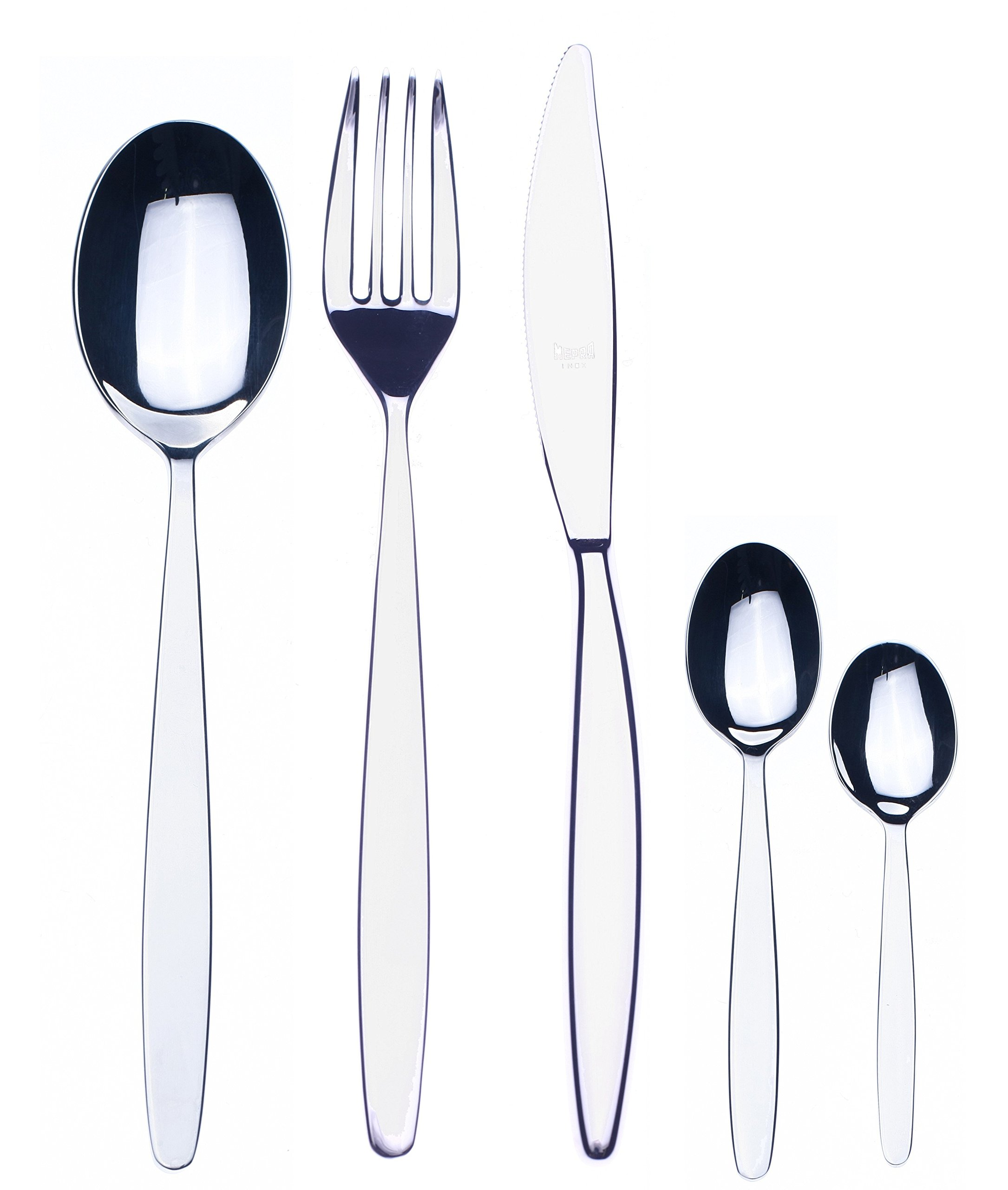 Mepra 30-Piece Immagina Moka Cutlery Set