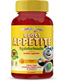 Vitamin Friends All Natural Vegan Children's Appetite Stimulant and Weight Gainer with Boost Appetite Gummies, 1 Pack…