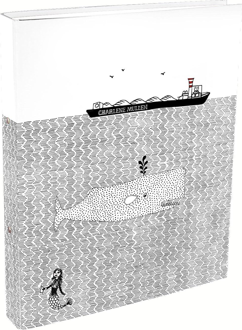 Clairefontaine charl/ène Mullen 115380/C raccoglitore a 4/Anello X per formato A4/con dorso di 4/cm 2/disegni assortiti modello casuale