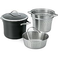 Calphalon Contemporary Hard-Anodized Aluminum 8-Quart Nonstick Cookware (Black)