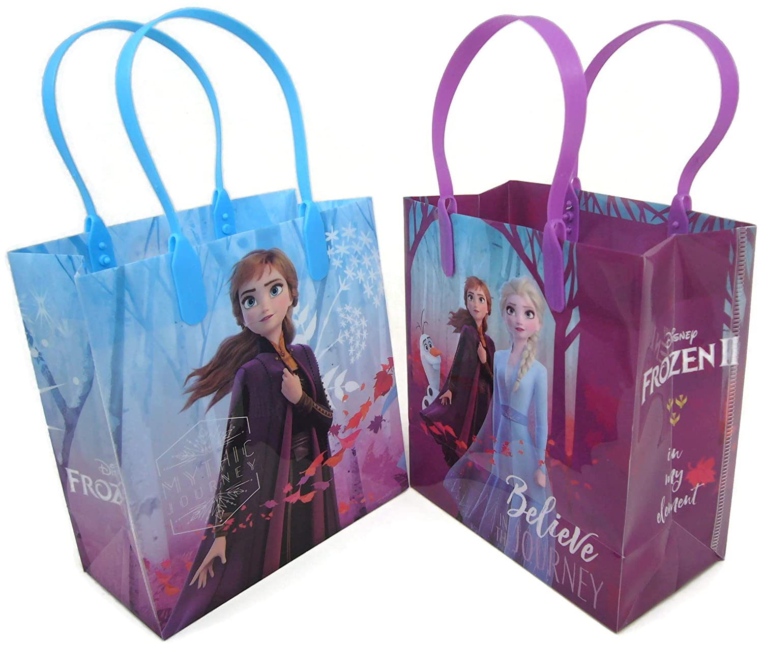 Disney Frozen Good Quality Party Favors Reusable Small Goodie Bags 6