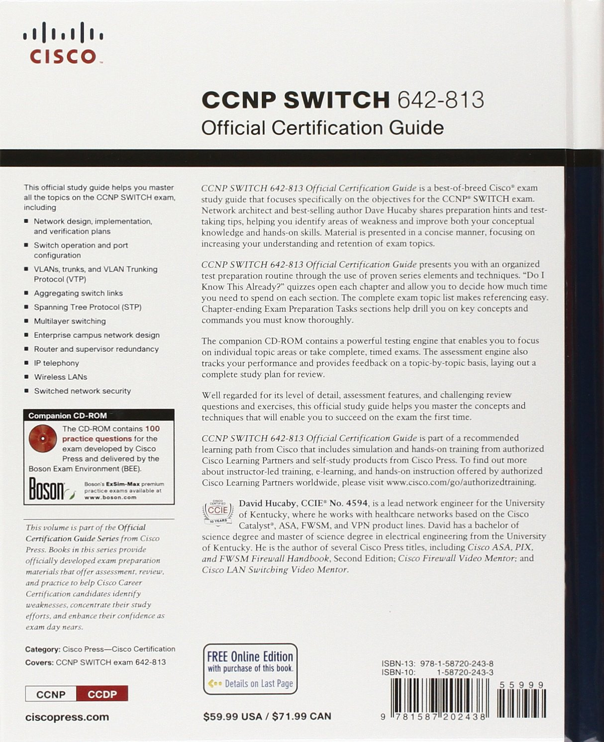 Ccnp Routing And Switching Official Certification Library Exams 642