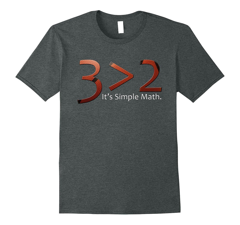 Simple Math Basketball T-Shirt-TH