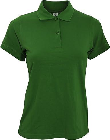 B/&C Ladies Safran long-sleeved polo shirt