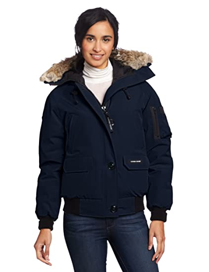 Canada Goose Womens Chilliwack Bomber, Navy, XX-Small