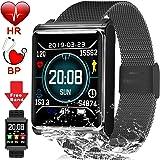 Amazon.com: Bluetooth 4.0 Smart Bracelet ID107 Smart Band ...