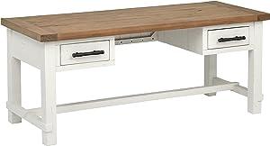 Amazon Brand – Stone & Beam Barrett Reclaimed Wood 2-Drawer Desk, 71