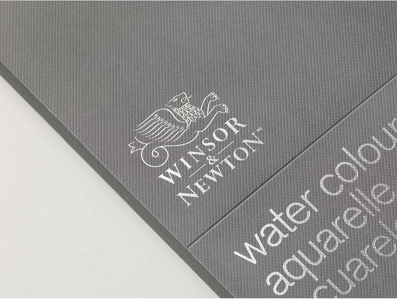 Block 4-seitig geleimt 20 Blatt Winsor /& Newton Aquarellblock Professional 300g//m/² Grobkorn 17,8 x 25,4cm
