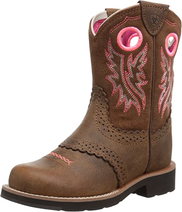 Horseback Riding Boots for Kids - Kids-Fatbaby-Cowgirl-Western-Little