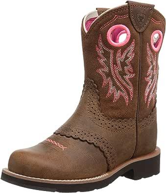 ARIAT Kids' Fatbaby Cowgirl Western Boot (Little Kid/Big Kid)