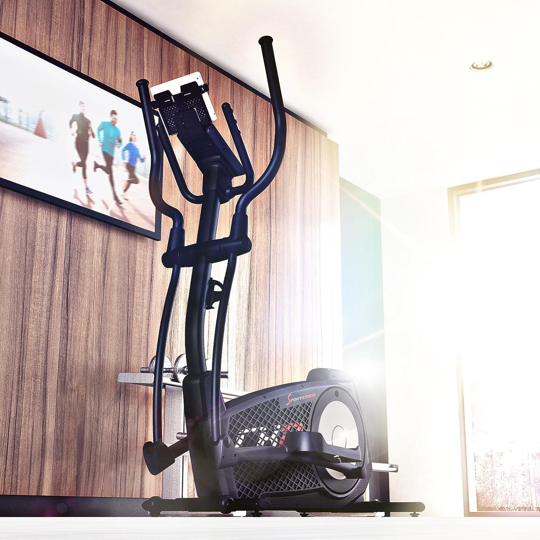 Sportstech Bicicleta elíptica CX2 Ganador de la Prueba con aplicación para Smartphone, generador eléctrico Integrado, Fitness Cardio, Bluetooth, ...