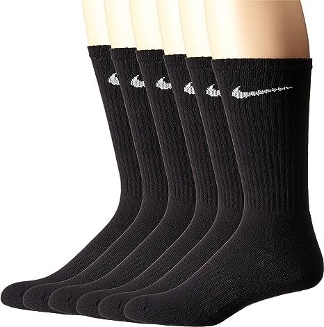 58d25f443 Amazon.com  NIKE Performance Cushion Crew Socks with Band (6 Pairs)  NIKE   Sports   Outdoors