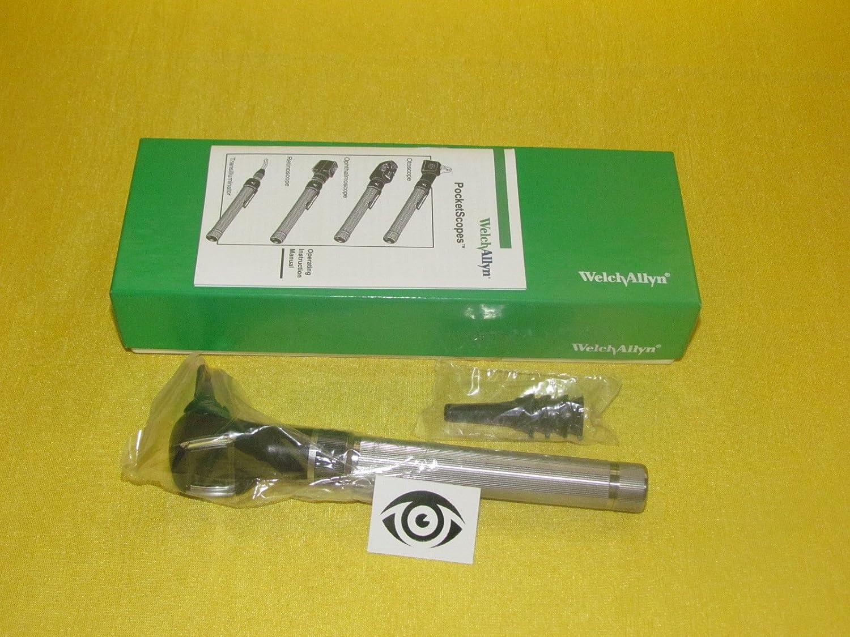 Welch Allyn 2,5V otoscopio con AA recargable mango 22860
