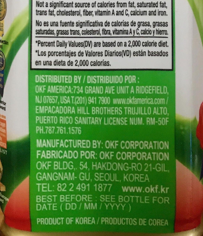 Amazon.com : OKF Aloe Vera King Drink (Gold Kiwi, 20) : Grocery & Gourmet Food