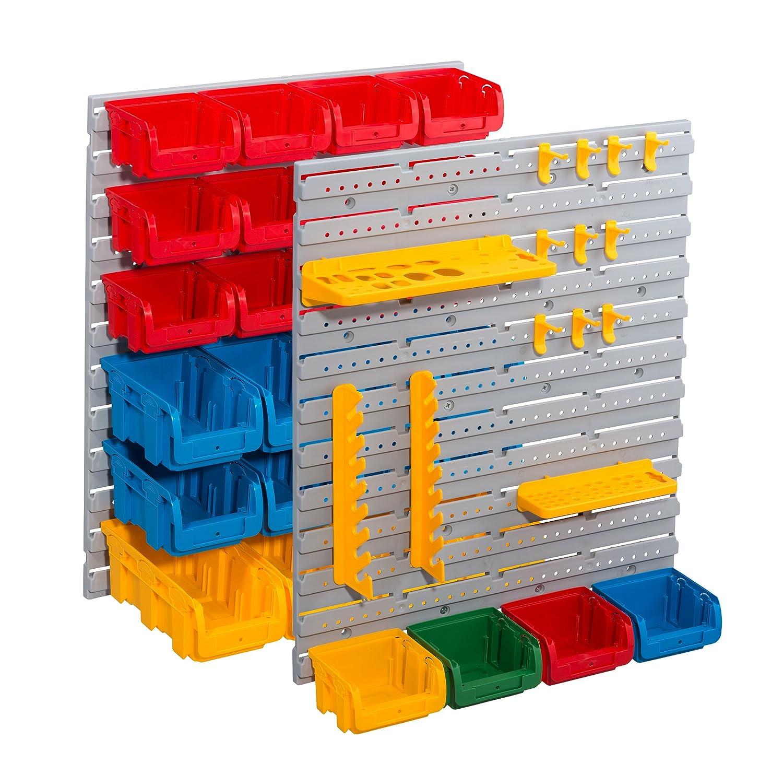 Allit pared continuo 455120 1/pieza gris//azul//verde//amarillo//rojo